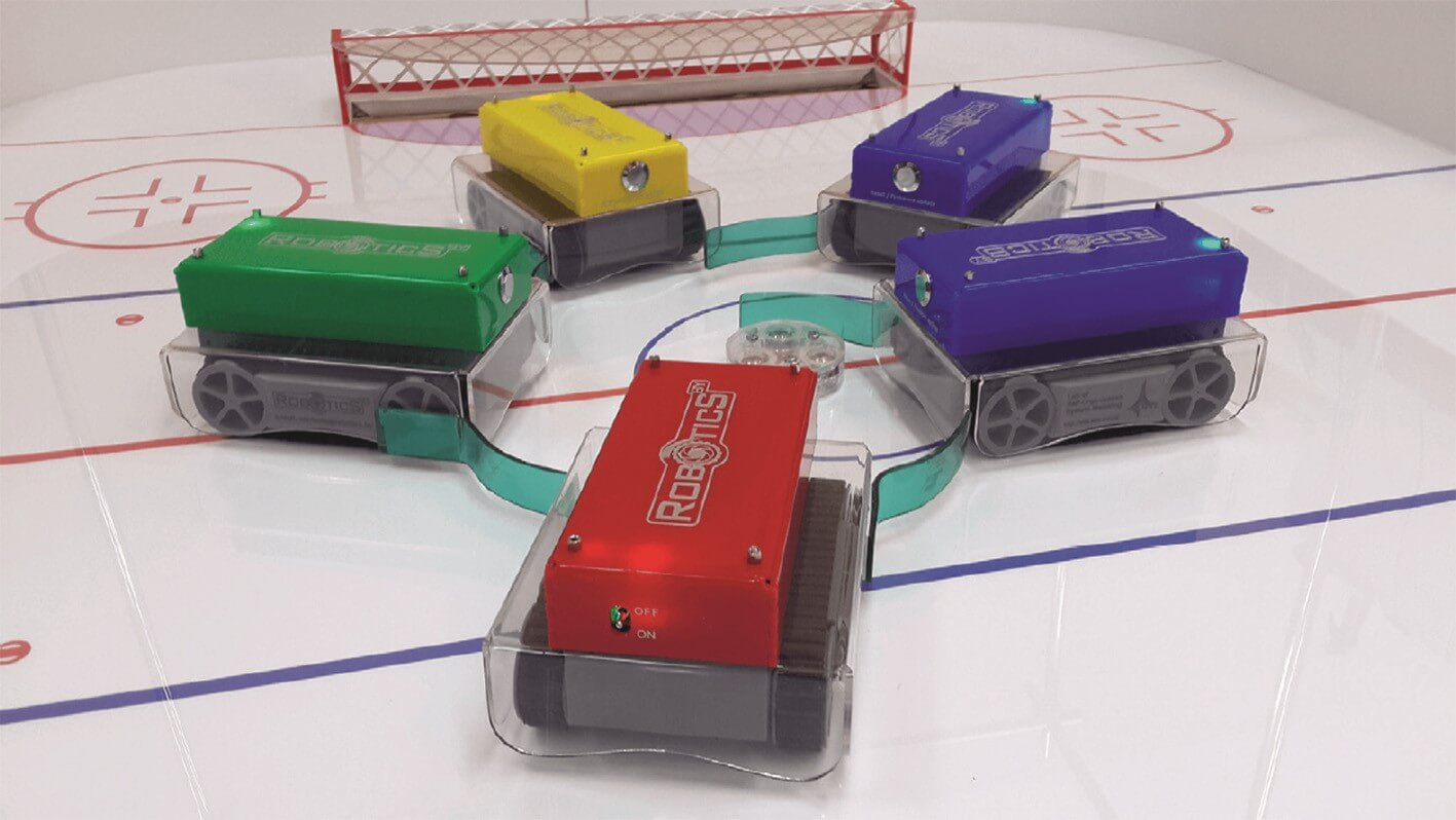 Hockey with robots competition