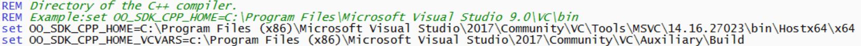 Изменение в файле настроек LibreOffice SDK 7.0.4