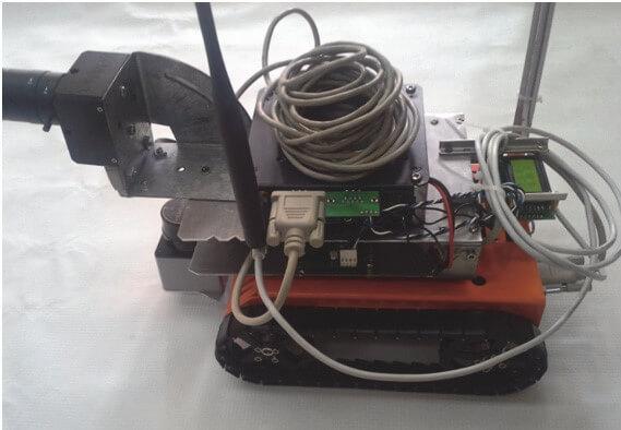 Прототип мобильного робота для задачи автономного картографирования внутри помещений