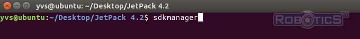 Запуск NVIDIA SDK Manager с помощью эмулятора терминала