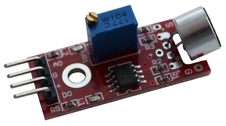 Большой микрофонный модуль Arduino.