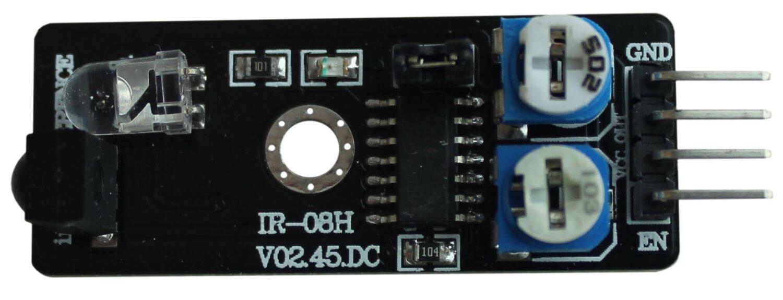 Инфракрасный датчик обнаружения препятствий Arduino.