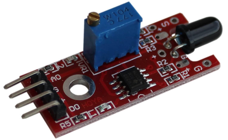 Модуль датчика пламени Arduino.