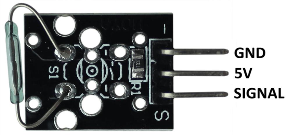 Распиновка мини модуля с герконом Arduino.