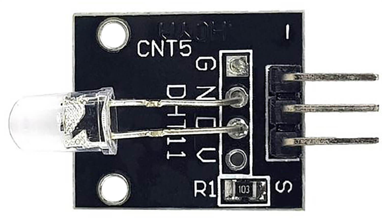 Модуль семицветного мигающего светодиода Arduino.