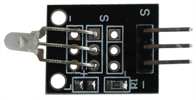 Модуль двухцветного 3-мм светодиода Arduino.
