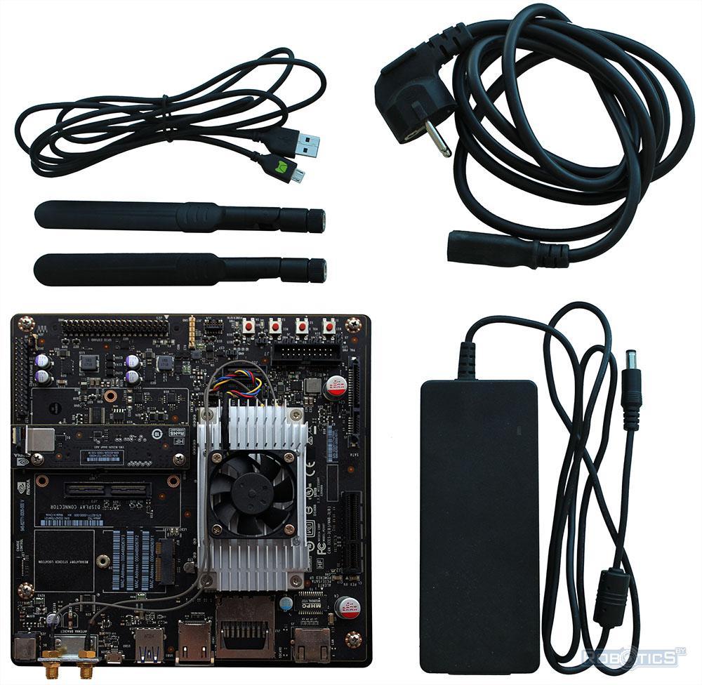 Комплект разработчика NVIDIA Jetson TX2.