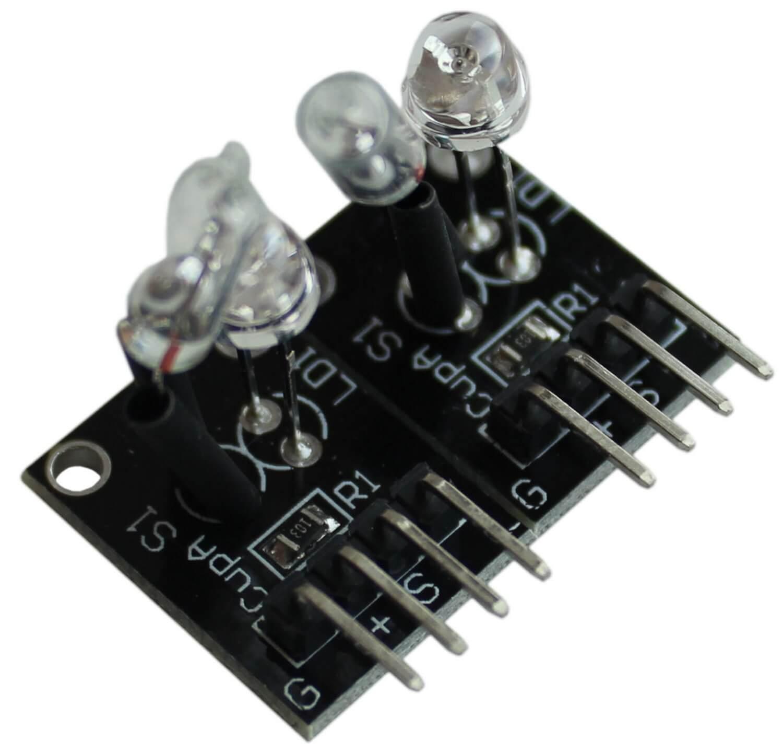 Магическая чаша света (модули датчиков наклона со светодиодами) Arduino.