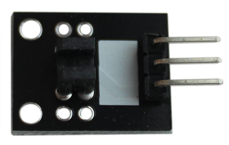 Модуль датчика фотопрерывателя Arduino. Вид сверху.