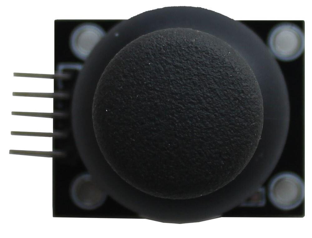 Модуль джойстика Arduino. Вид сверху.